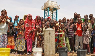 Directaid Water Projects Al-Hyaa Well 1